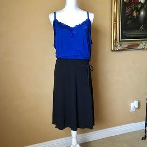 Old Navy Women's Plus Black Knit Skirt size 2x